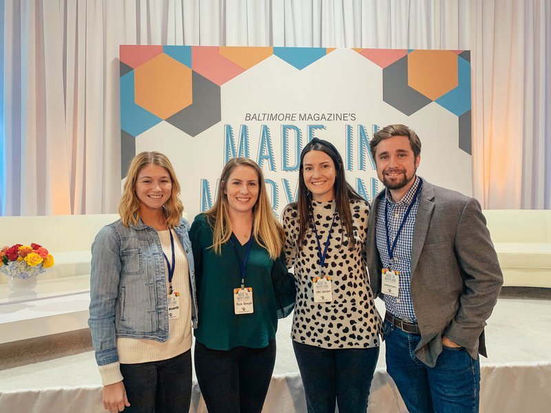Harvey Team members attend Baltimore Magazine's Made in Maryland Brand Summit 2019