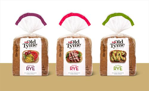 Schmidt Old Tyme Deli-Style Rye Bread Package Design